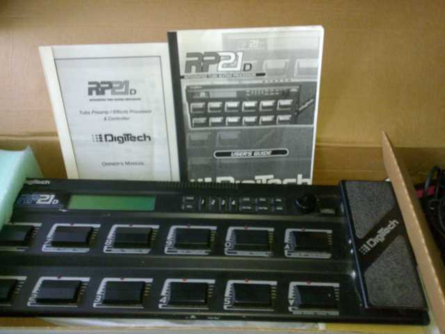 Продам Ламповый гитарный преамп Digitech RP21D