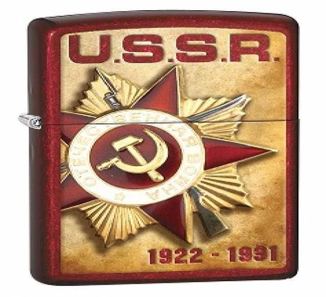 Продам Зажигалка Zippo 77319 USSR Medal