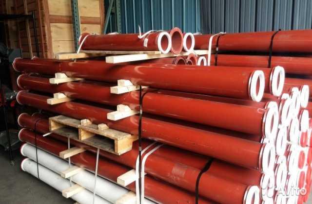 Продам:  Бетоновод DN 125мм, L- 3000мм, сталь ST
