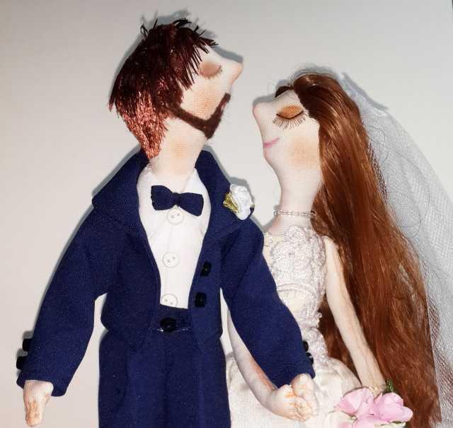 Продам Свадебные куклы на подарок