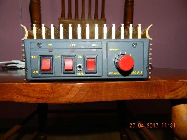 Продам  Усилитель мощности КВ и СБ  В300 P-S