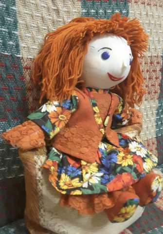 Продам Авторская кукла Тоня