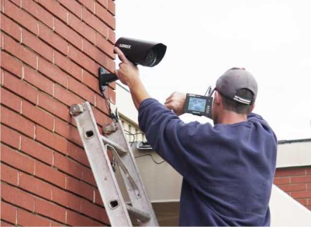 Продам: Установка уличной видеокамеры