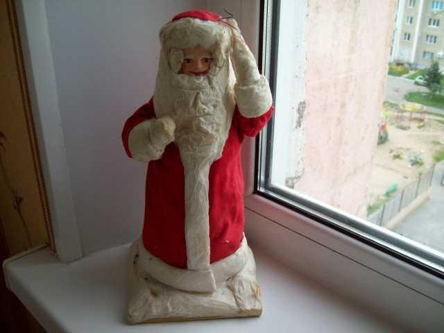Продам Дед Мороз (папье-маше)-ватный