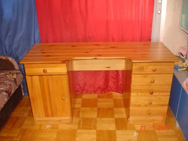 Продам Стол письменный  из натурального дерева