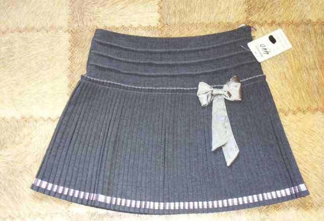 Продам юбку серую на девочку 9-13 лет