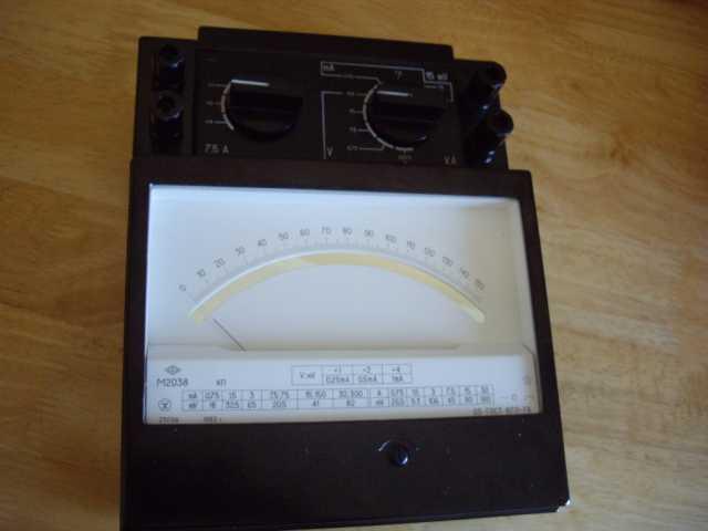 Продам Лабораторный  вольтамперметр М2038
