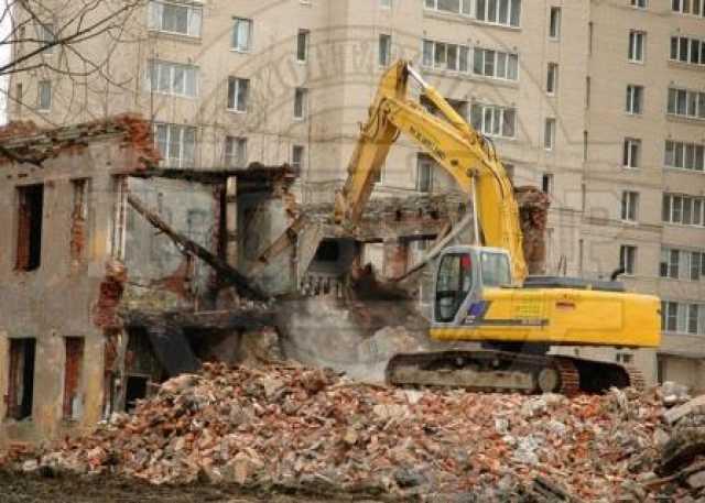 Предложение: Демонтаж, Снос стен, зданий, фундаментов