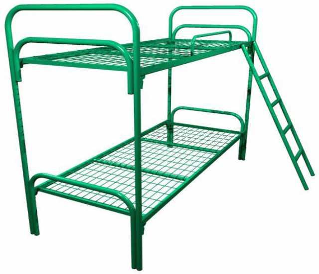 Продам Железные одноярусные кровати для рабочих