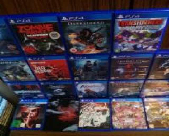 Продам Sony PlayStation 4 игры