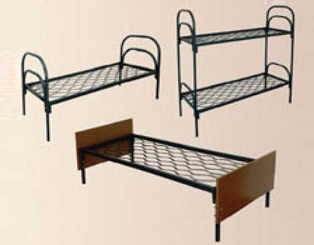 Продам металлические кровати для бытовок, оптом