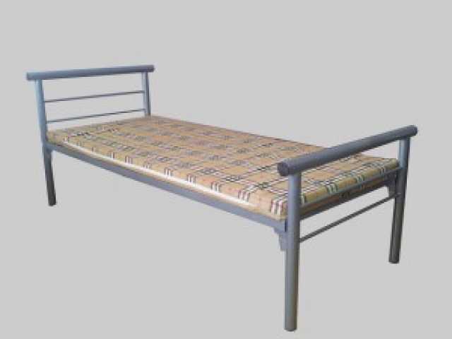 Продам Металлические кровати одноярусные, оптом