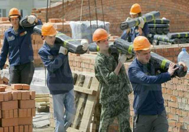Предложение: Бригады строителей, подсобных работников