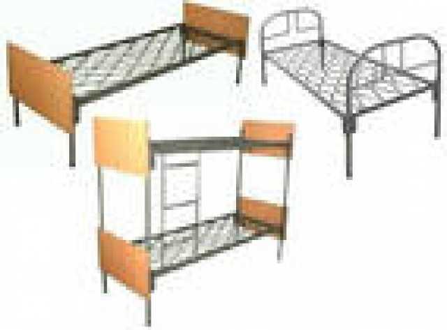 Продам: Металлические кровати с ДСП спинками опт