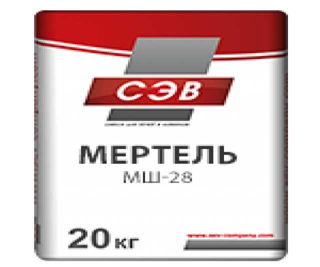 Продам Мертель шамотный МШ-28 20кг
