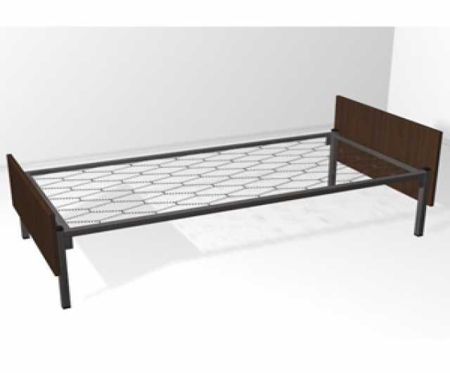 Продам: Кровати из металла со спинками ДСП опт