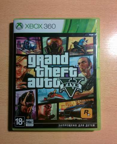 Продам GTA 5 для xbox360