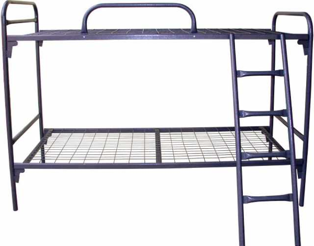 Продам металлические кровати 1 и 2 хярусные опт
