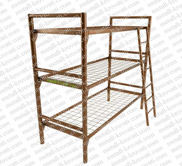 Продам Трехъярусные кровати оптом из металла