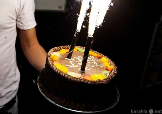 Продам фонтаны в торт