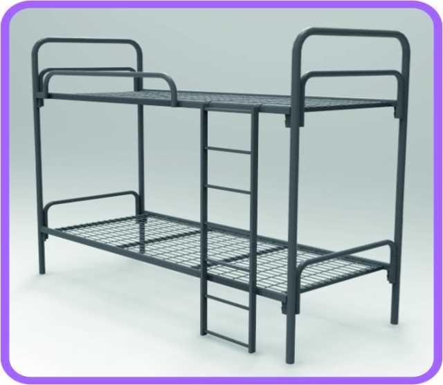 Продам Металлические кровати оптом для рабочих