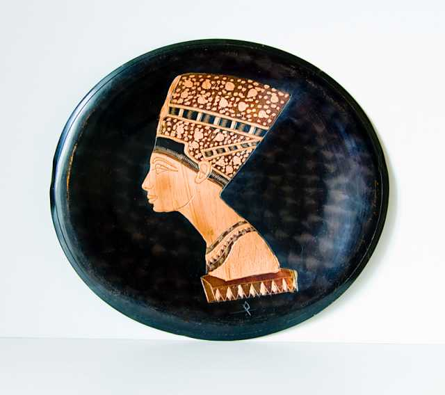 Продам Нефертити медь, чеканка, Сирия 1970 год