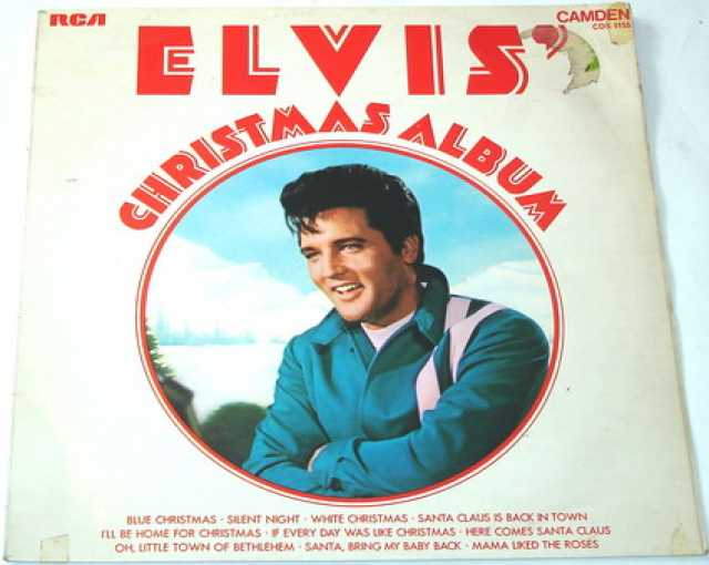 Продам Винил. Elvis Christmas Album. 1970. RCA.