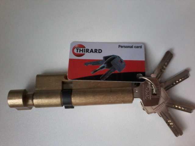 Продам Личинка для замка 90 мм 25х10х55  5 ключ