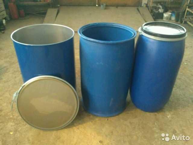 Куплю Бочки пластик и металл 20-260 л