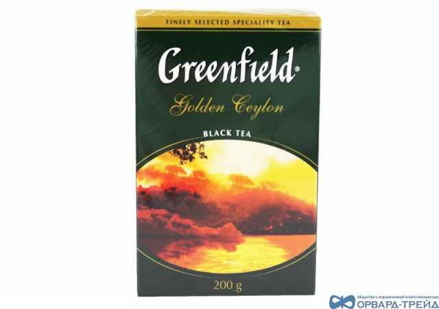 Продам Чай Гринфилд Голден Цейлон 200гр