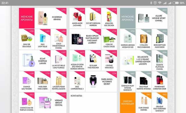 Продам Женская и мужская парфюмерия