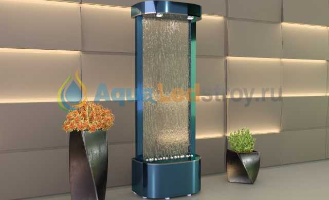 Продам Интерьерный водопад по стеклу №4