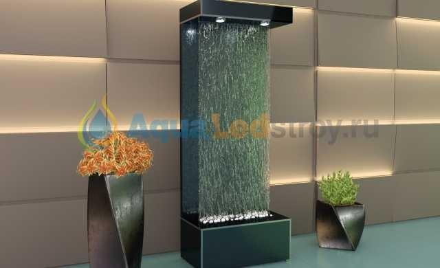 Продам Интерьерный водопад по стеклу №1