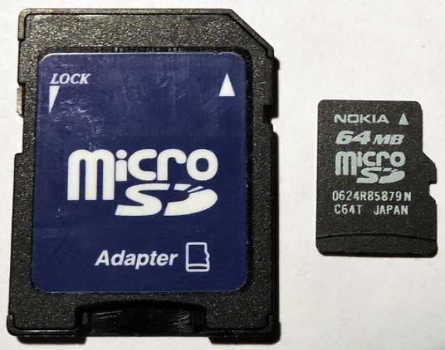 Продам: Карта памяти Micro SD 64Mb. Nokia