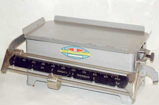 Продам Весы до 5 кг. СССР