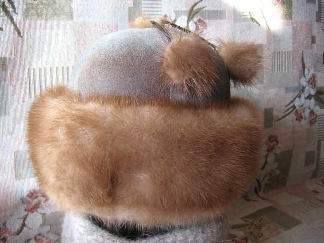 Продам шапка меховая