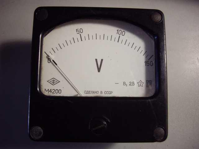Продам: М4200 вольтметр постоянного на150 вольт