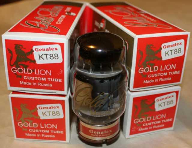 Продам Лампы КТ88 Genalex Gold Lion