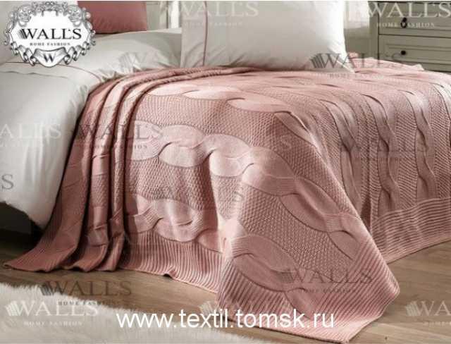Продам Вязаное покрывало на кровать