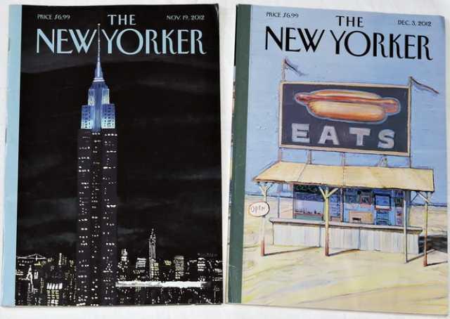 Продам Журналы The New Yorker. 2 номера, 2012г.
