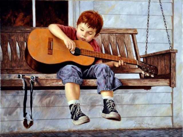 Предложение: Уроки игры на гитаре по skype. Обучение