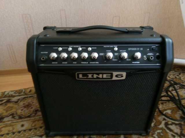 Продам Усилитель для гитары  LINE 6 SPIDER IV