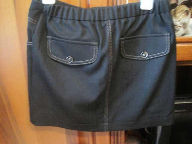 Продам Модная джинсовая черно-серая юбка  высот