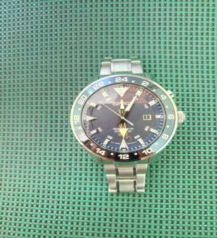 Продам Японские часы SEIKO Sportura Kinetic GMT