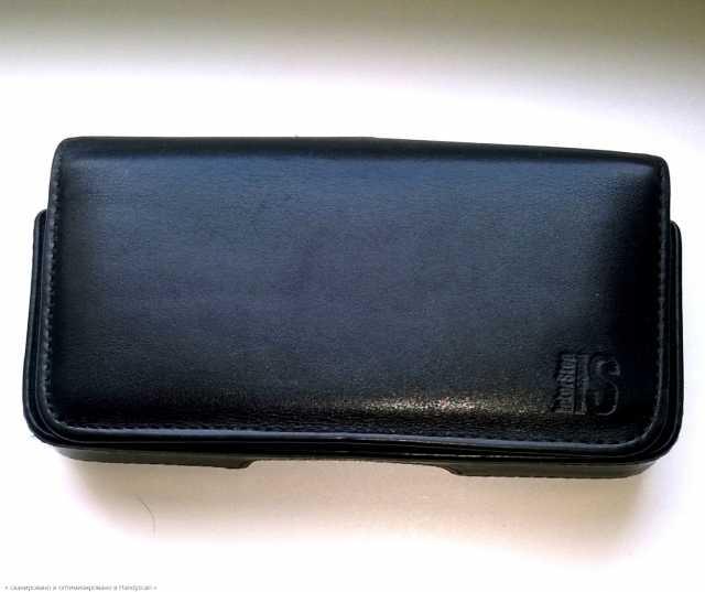Продам Кожаная поясная кобура для смартфона.