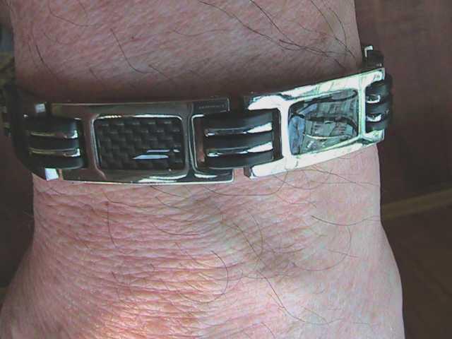 Продам браслет титановый магнитный мужской