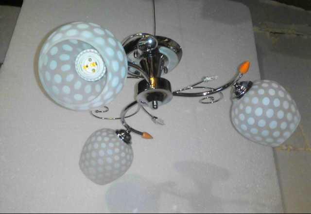 Продам Новинка люстра трёх ламповая  Л-38