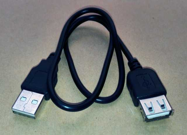 """Продам Кабель USB """"мама"""" - USB """"папа"""" длина 42"""