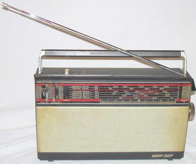 Продам Радиоприемник VEF 317. СССР