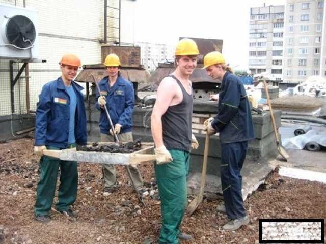 Предложение: строительная бригада